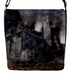 Apocalypse War Armageddon Flap Messenger Bag (s)
