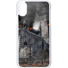 Apocalypse War Armageddon Apple Iphone X Seamless Case (white)