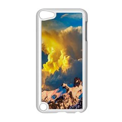 Mountains Clouds Landscape Scenic Apple Ipod Touch 5 Case (white)