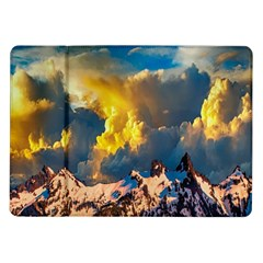 Mountains Clouds Landscape Scenic Samsung Galaxy Tab 10 1  P7500 Flip Case