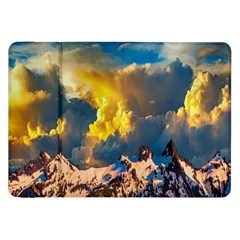 Mountains Clouds Landscape Scenic Samsung Galaxy Tab 8 9  P7300 Flip Case