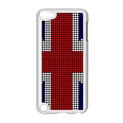 Union Jack Flag British Flag Apple Ipod Touch 5 Case (white)