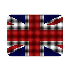 Union Jack Flag British Flag Double Sided Flano Blanket (mini)