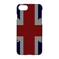 Union Jack Flag British Flag Apple Iphone 8 Hardshell Case