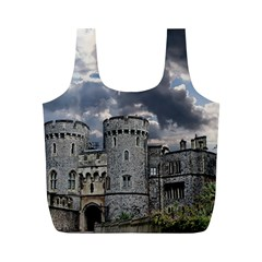 Castle Building Architecture Full Print Recycle Bags (m)