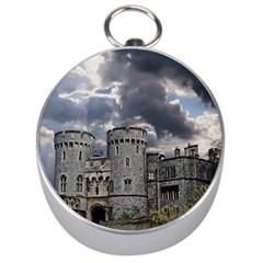 Castle Building Architecture Silver Compasses