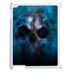 Skull Horror Halloween Death Dead Apple Ipad 2 Case (white)