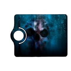Skull Horror Halloween Death Dead Kindle Fire Hd (2013) Flip 360 Case