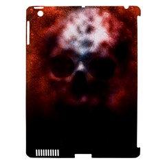 Skull Horror Halloween Death Dead Apple Ipad 3/4 Hardshell Case (compatible With Smart Cover)