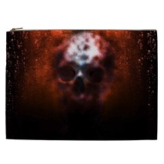 Skull Horror Halloween Death Dead Cosmetic Bag (xxl)