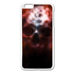 Skull Horror Halloween Death Dead Apple Iphone 6 Plus/6s Plus Enamel White Case