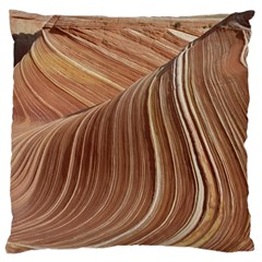 Swirling Patterns Of The Wave Large Cushion Case (two Sides)