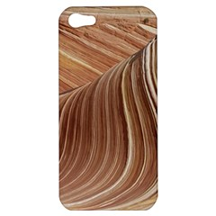 Swirling Patterns Of The Wave Apple Iphone 5 Hardshell Case