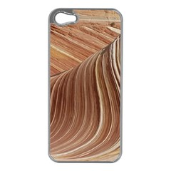 Swirling Patterns Of The Wave Apple Iphone 5 Case (silver)