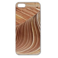 Swirling Patterns Of The Wave Apple Seamless Iphone 5 Case (clear)