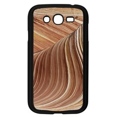 Swirling Patterns Of The Wave Samsung Galaxy Grand Duos I9082 Case (black)