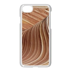 Swirling Patterns Of The Wave Apple Iphone 8 Seamless Case (white)