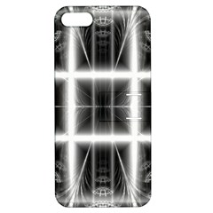 Geometry Pattern Backdrop Design Apple Iphone 5 Hardshell Case With Stand