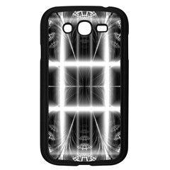 Geometry Pattern Backdrop Design Samsung Galaxy Grand Duos I9082 Case (black)