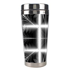 Geometry Pattern Backdrop Design Stainless Steel Travel Tumblers
