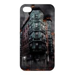 War Destruction Armageddon Disaster Apple Iphone 4/4s Hardshell Case