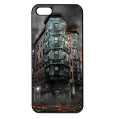 War Destruction Armageddon Disaster Apple Iphone 5 Seamless Case (black)