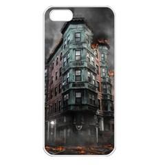 War Destruction Armageddon Disaster Apple Iphone 5 Seamless Case (white)