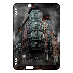 War Destruction Armageddon Disaster Kindle Fire Hdx Hardshell Case