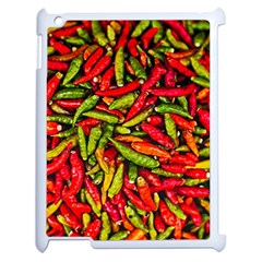 Chilli Pepper Spicy Hot Red Spice Apple Ipad 2 Case (white)