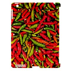 Chilli Pepper Spicy Hot Red Spice Apple Ipad 3/4 Hardshell Case (compatible With Smart Cover)