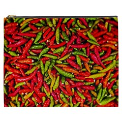 Chilli Pepper Spicy Hot Red Spice Cosmetic Bag (xxxl)