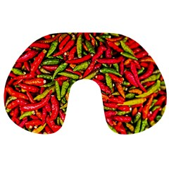 Chilli Pepper Spicy Hot Red Spice Travel Neck Pillows