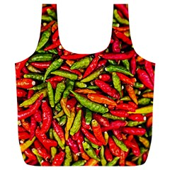 Chilli Pepper Spicy Hot Red Spice Full Print Recycle Bags (l)