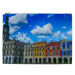 Buildings Architecture Architectural Cosmetic Bag (xxl)
