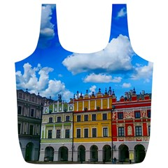 Buildings Architecture Architectural Full Print Recycle Bags (l)