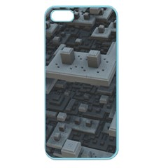 Backdrop Construction Pattern Apple Seamless Iphone 5 Case (color)