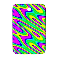 Lilac Yellow Wave Abstract Pattern Samsung Galaxy Note 8 0 N5100 Hardshell Case