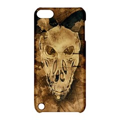 Skull Demon Scary Halloween Horror Apple Ipod Touch 5 Hardshell Case With Stand