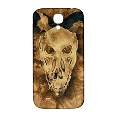 Skull Demon Scary Halloween Horror Samsung Galaxy S4 I9500/i9505  Hardshell Back Case