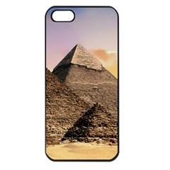 Pyramids Egypt Apple Iphone 5 Seamless Case (black)