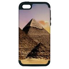 Pyramids Egypt Apple Iphone 5 Hardshell Case (pc+silicone)