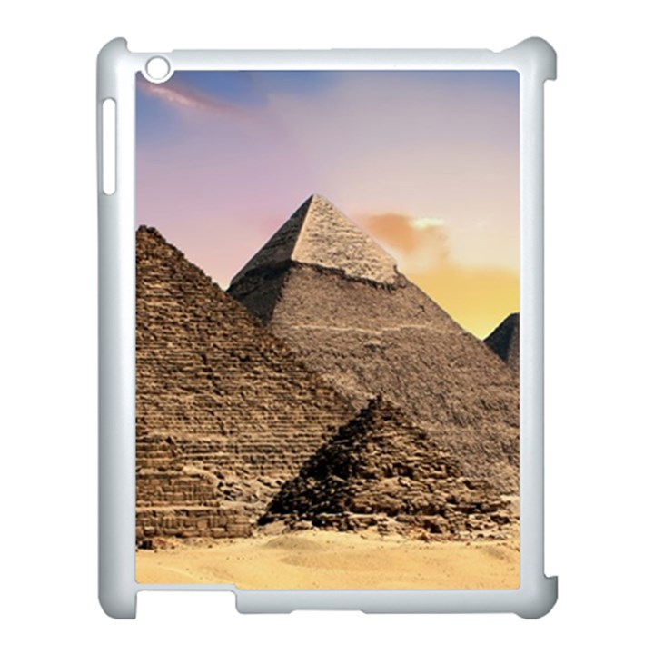 Pyramids Egypt Apple iPad 3/4 Case (White)