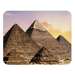 Pyramids Egypt Double Sided Flano Blanket (large)