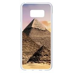 Pyramids Egypt Samsung Galaxy S8 Plus White Seamless Case