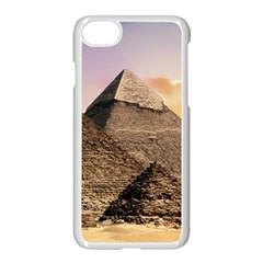 Pyramids Egypt Apple Iphone 8 Seamless Case (white)