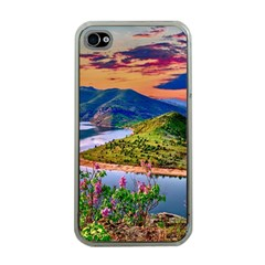 Landscape River Nature Water Sky Apple Iphone 4 Case (clear)
