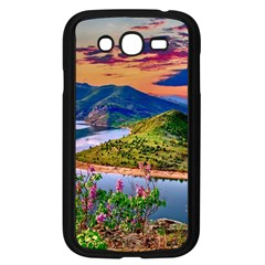 Landscape River Nature Water Sky Samsung Galaxy Grand Duos I9082 Case (black)