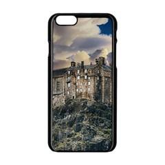 Castle Monument Landmark Apple Iphone 6/6s Black Enamel Case