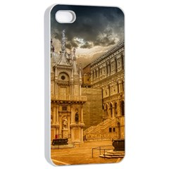 Palace Monument Architecture Apple Iphone 4/4s Seamless Case (white)