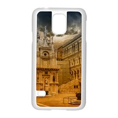 Palace Monument Architecture Samsung Galaxy S5 Case (white)